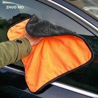 8pcs 38*40cm Super Absorbent Car Wash Microfiber Towel Car Cleaning Drying Cloth Hemming Car Care Cloth Detailing Towel
