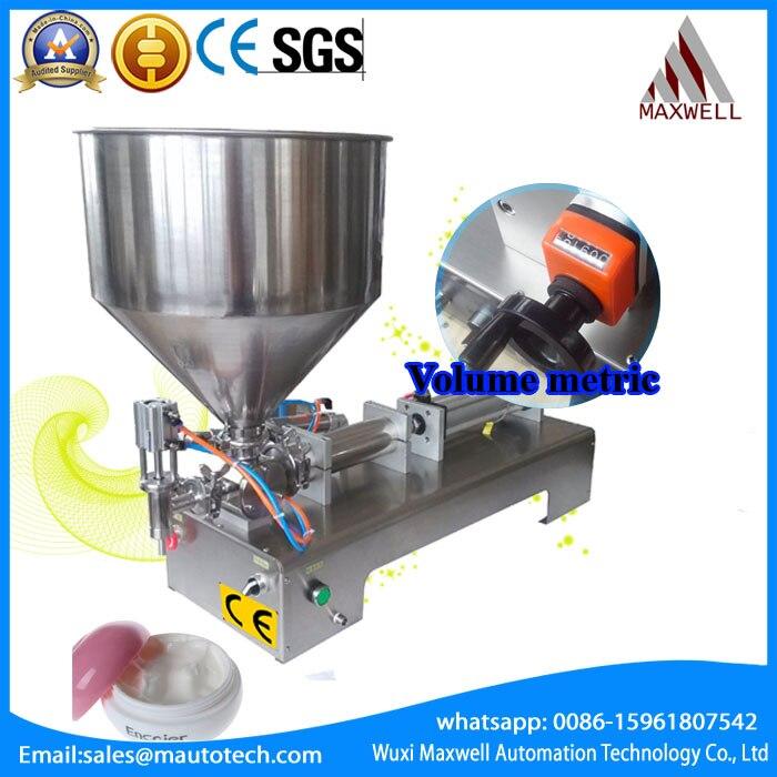 cosmetic cream  filling machine/filler high quality 0-1000ml high quality manual cosmetic paste liquid filling machine cream filler 5 50ml