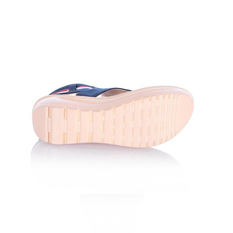Wedges Shoes For Women High Heel Summer Ladies Gladiator Sandals Woman Platform Cowboy Zipper Sandalias Mujer 2018 hj98 5