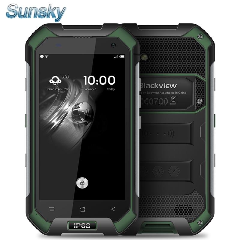 bilder für Original Blackview BV6000 4G LTE Wasserdichte MTK6755 OTG 4,7 zoll HD Octa-core Android 6.0 Handy 3 GB 32 GB 13.0MP handy