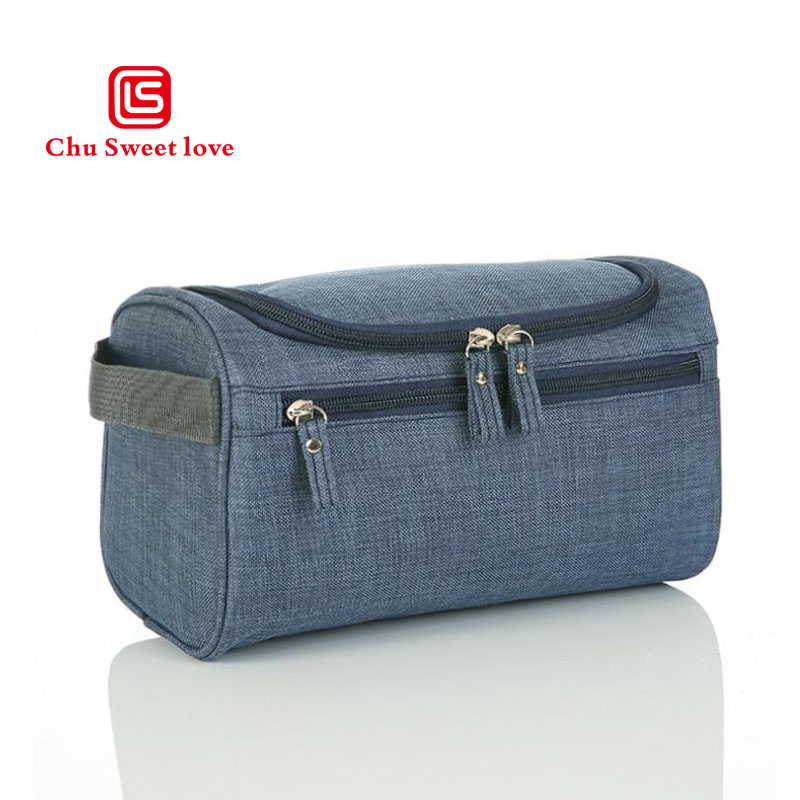 Oxford Cloth Travel Wash Bag Zipper Opening New Cosmetic Bag Portable Multifunctional Men's Portable Storage Bag