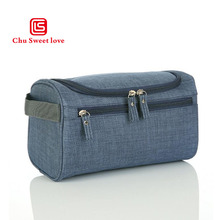 Oxford cloth travel wash bag zipper opening new cosmetic portable multifunctional mens storage