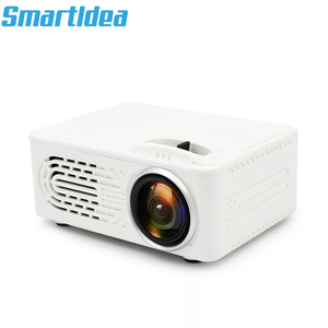 Image 2 - SmartIdea חדש מיני LED מקרן וידאו משחק נייד Proyector אודיו/AV/USB/SD לבנות ב סוללה אופציונלי זול מחיר
