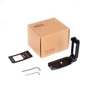 Image 5 - XILETU LB D850L professionnel L Type plaque de dégagement rapide support de chargement rapide poignée de main pour Nikon D850 répondre à la norme arca swiss