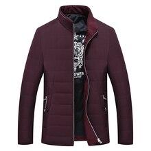 8xl 6xl зимняя куртка мужчины 2016 Новый Год мужчины «s хлопок смешанные мужчин» s куртка случайные люди «хлопок-ватник плюс код