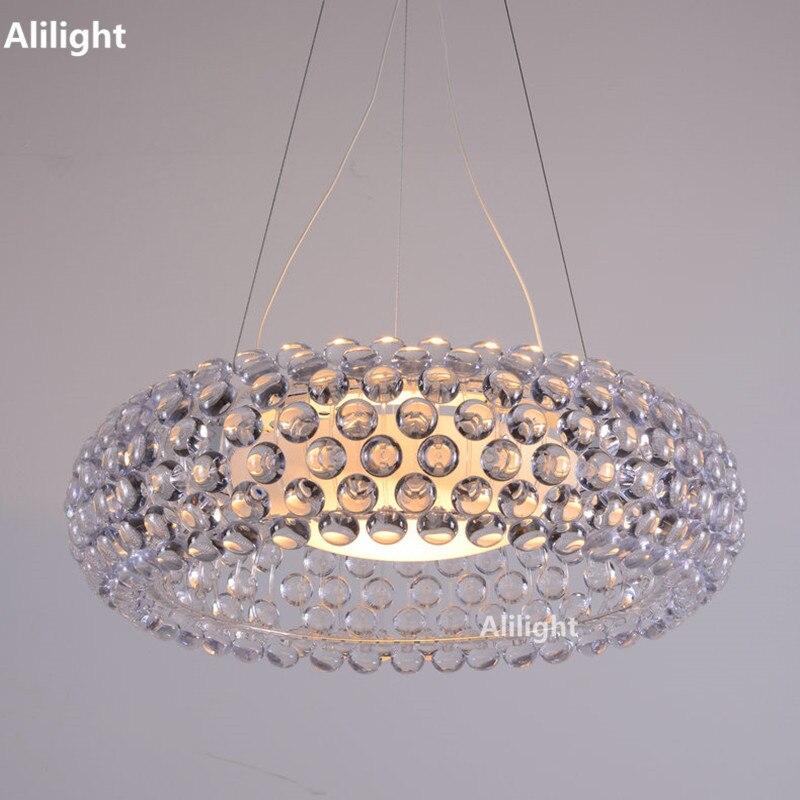 Pendelleuchten Foscarini Caboche Acryl Ball Lampe Leuchten Fr Wohnzimmer Schlafzimmer Hotel Leuchte Lamparas ColgantesChina