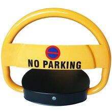 Car parking alarm system waterproof parking barrier lock with alarm sound voice
