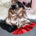 180x65 cm 100% Seda Bufandas de Rayas de la Mujer 2017 Mujer Hechizo Color Bufanda Chales y Abrigos de Lujo ST