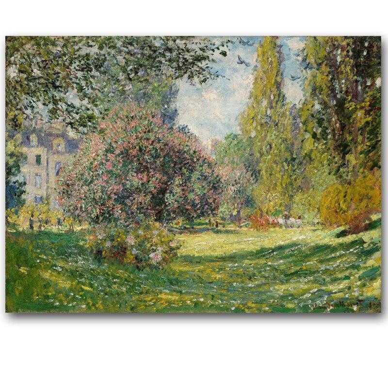 Клод Моне Доступно множество цветов импрессионистов пейзаж плакат Принт Оригинальный Холст Картина маслом Главная стены Книги по искусств... ...