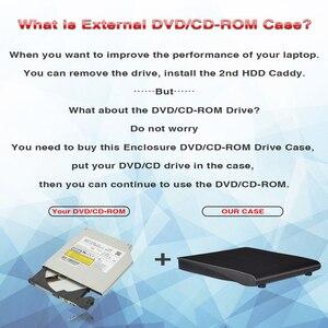 DeepFox 9.5mm USB 3.0 SATA Optical Drive Case Kit External Mobile Enclosure DVD/CD-ROM Case For Laptop Without Optical Drive