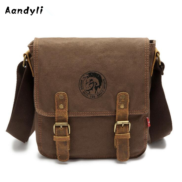 Casual Travel Crossbody Bag Canvas Men Shoulder Bag Men Messenger Bags casual canvas satchel men sling bag