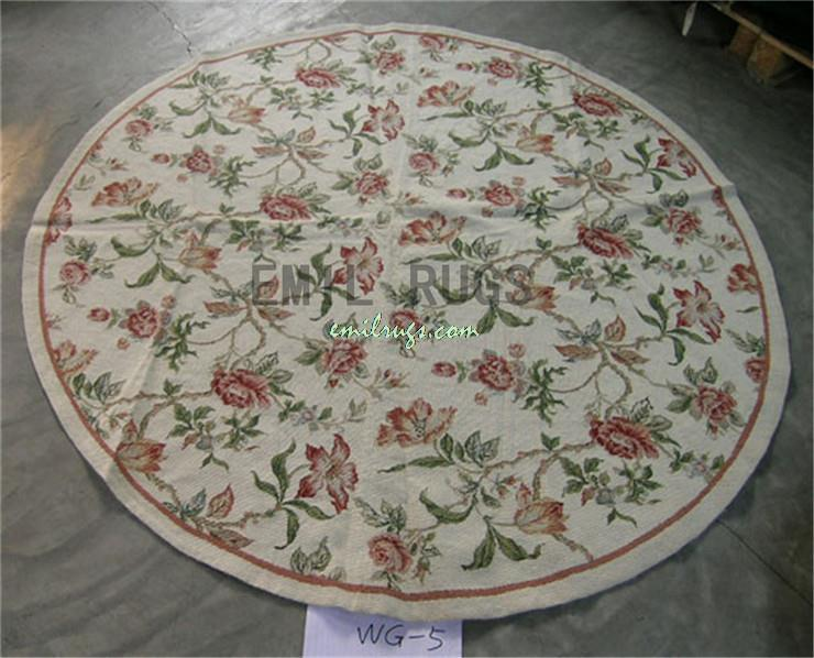 100 Wolle Handgenht Nadel Teppiche Needleopint 183 CM X 6