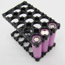 10/20 個 3 × 5 携帯 18650 電池プラスチックスペーサーホルダー放射シェルスイッチャーパック JR セール