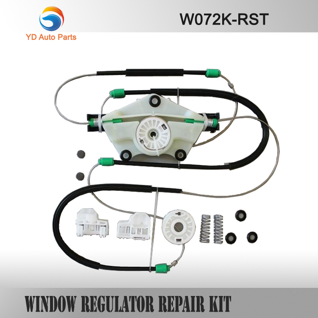 YD  FOR VW PASSAT B5 ELECTRIC WINDOW REGULATOR REPAIR KIT FRONT RIGHT SIDE SET TYPE