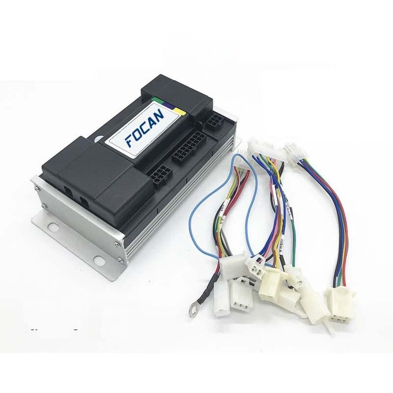 Hub Motor Scooter Sine Wave BLDC Motor Controller 800W/1000W/1200W 35A 48V 60V 72V