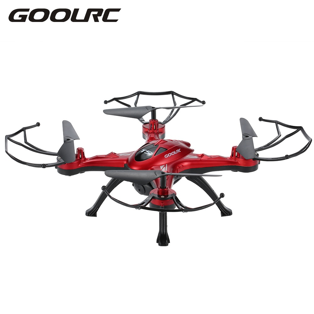 GoolRC T5G Drone 5.8G Real Time FPV RC Quadcopter 2.0MP HD Camera Battery LCD Display 360 Eversion Function RC Camera Drones cheerson cx 20 cx20 rc quadcopter original parts sports hd dv camera 12 0mp