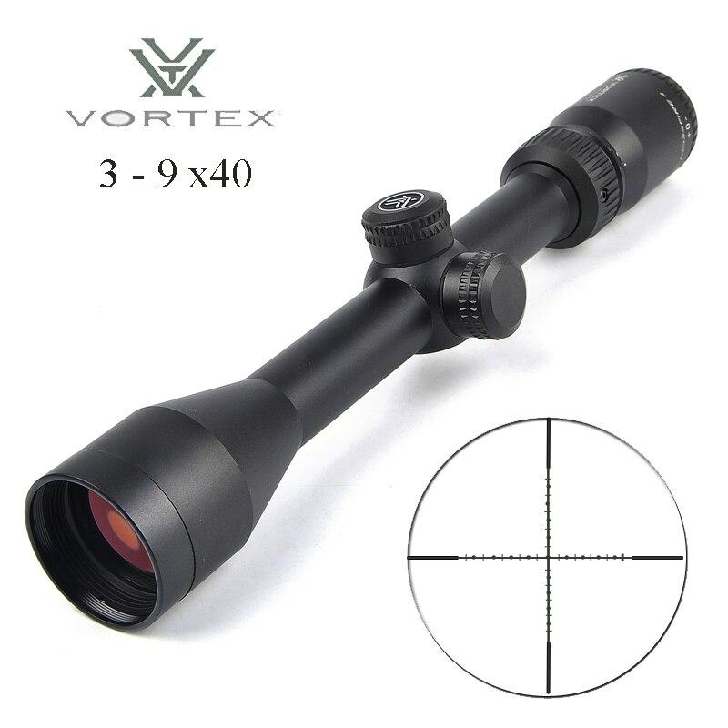 Vórtice 3-9x40 segundo plano Focal Riflescopes caza Scopes Rifle miras Lunette Viseur Carabine vórtice alcance caza