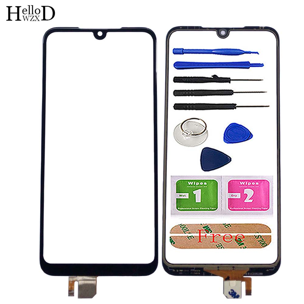 """6.26"""" Touch Screen Panel For Xiaomi Redmi 7 Touch Screen Panel Digitizer Sensor Front Glass Phone Replace Tools 3M Glue Wipes"""