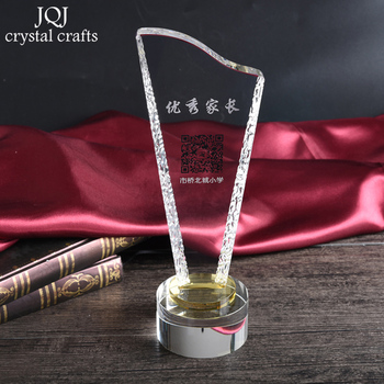 Customized Crystal Miniature DIY Glass Crafts Personalized Text & Logo Engraved Ornaments For Gifts Home Decor House Decoration