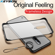 KEYSION Frameless Case for Oneplus 7 Pro Case Silicone Clear for Oneplus 7 Coque Frosted Funda Cover Capa for One Plus 7 Pro