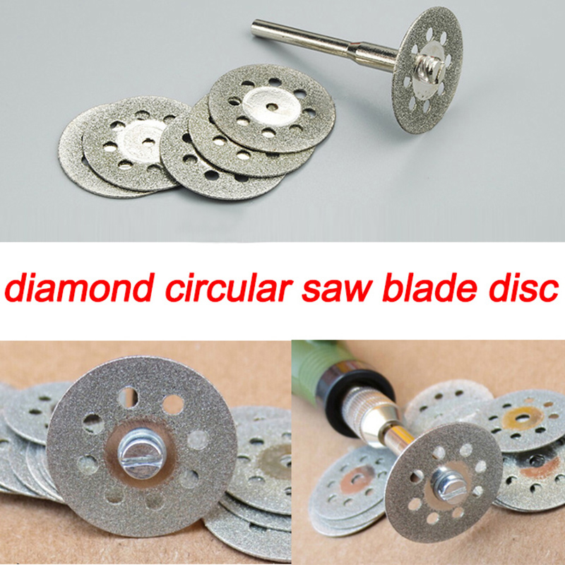 10pcs 22mm Diamond Cutting Disc Diamond Grinding Wheel Dremel Tools Accessories Rotary Tool Abrasive Ferramenta Grinding Stone