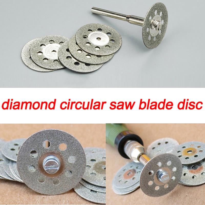10pcs 22mm Diamond Cutting Disc Diamond Grinding Wheel Dremel Tools Accessories Rotary Tool Abrasive Ferramenta Grinding Stone