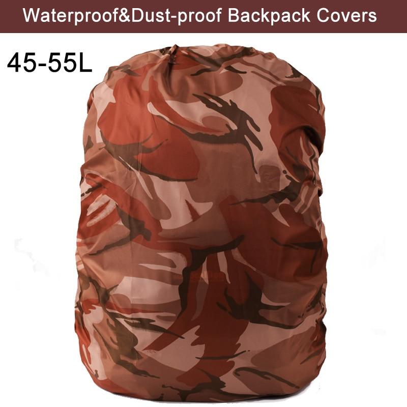 AntiDust Waterproof 45-55L Back pack Rain Cover Men&Women Laptop Backpack Rucksack SchooL Bag Travel Notebook Computer Bag Cover