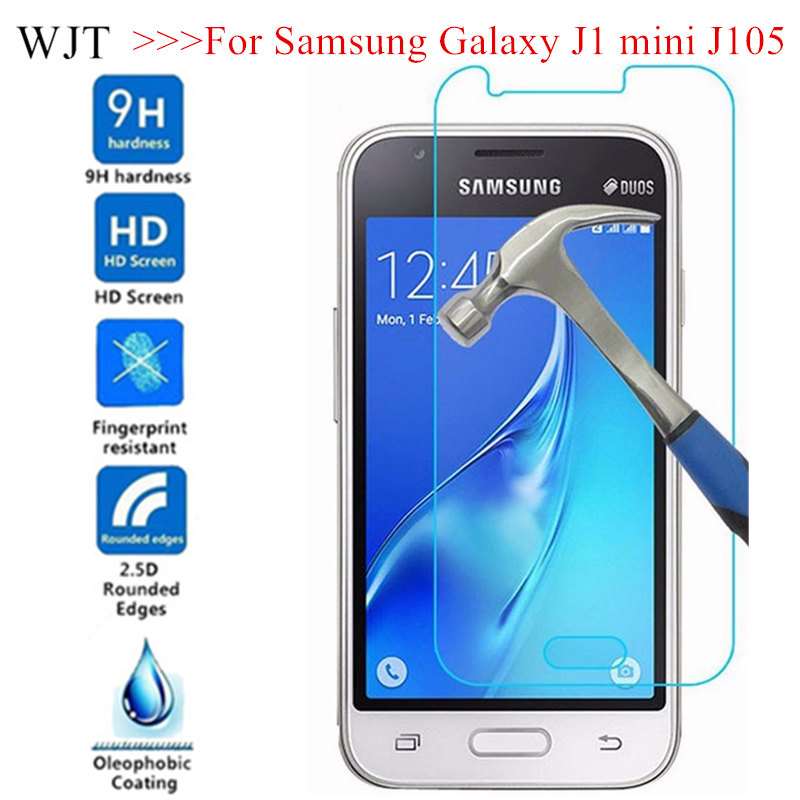 Tempered Glass For Samsung Galaxy J1 Mini J105 SM-J105H DUOS Glass On J1MINI J105H/DS SM J105B/DS Screen Protector Capa Phone
