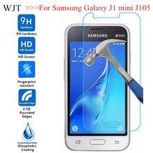Temperli cam Samsung Galaxy J1 mini J105 SM J105H DUOS cam J1MINI J105H/DS SM J105B/DS ekran koruyucu çapa telefon