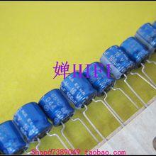 Горячая 20 шт/50 шт ELNA RC3 синий халат электролитический конденсатор 16v100uf 6x7
