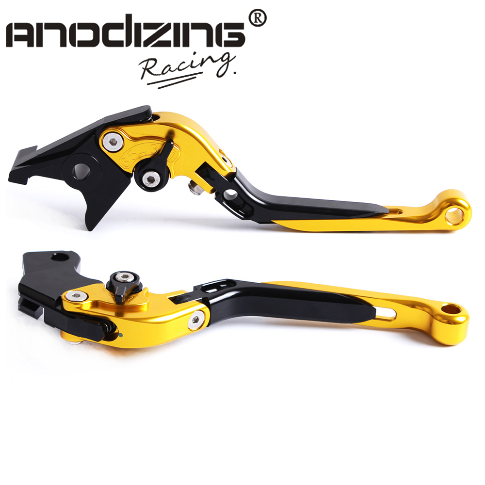 цены F-14 S-650 Adjustable CNC 3D Extendable Folding Brake Clutch Levers For Suzuki RGV 250 SV650/S GSX 650F  GSXR 750
