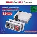 10 stücke HDMI Heraus Retro Klassische Handheld-Spiel-Spieler Familie TV Video Spiel Konsole Kindheit Eingebaute 600 Spiele Für Mini HDMI