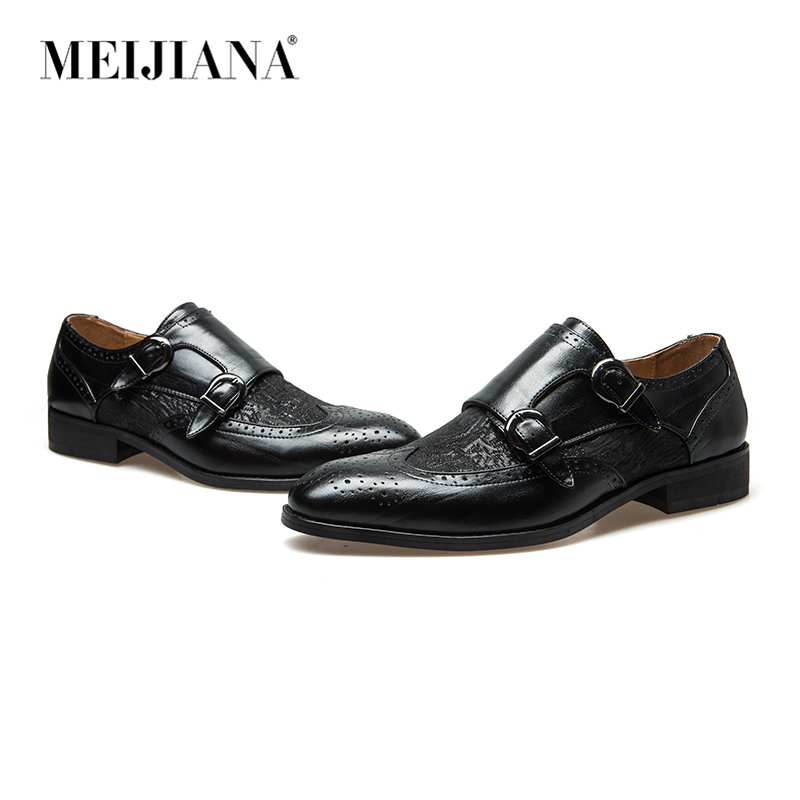 Meijiana Snake Leather Men Oxford Shoes Lace Up Casual Business Men Pointed Shoes Brand Men Wedding Men Dress Boat Shoes