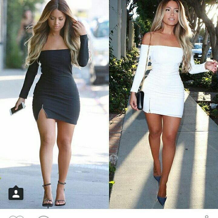 9553e73b30a01 US $16.85 |2016 Women Bandage Bodycon Dress Sexy Slash Neck Off the  Shoulder Long Sleeve Side Split with Zipper White Black Club Dresses-in  Dresses ...