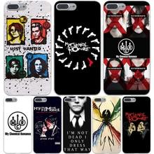 My Chemical Romance Жесткий Прозрачный Чехол Case для iPhone 7 7 плюс 6 6s Плюс 5 5S SE 5C 4 4S