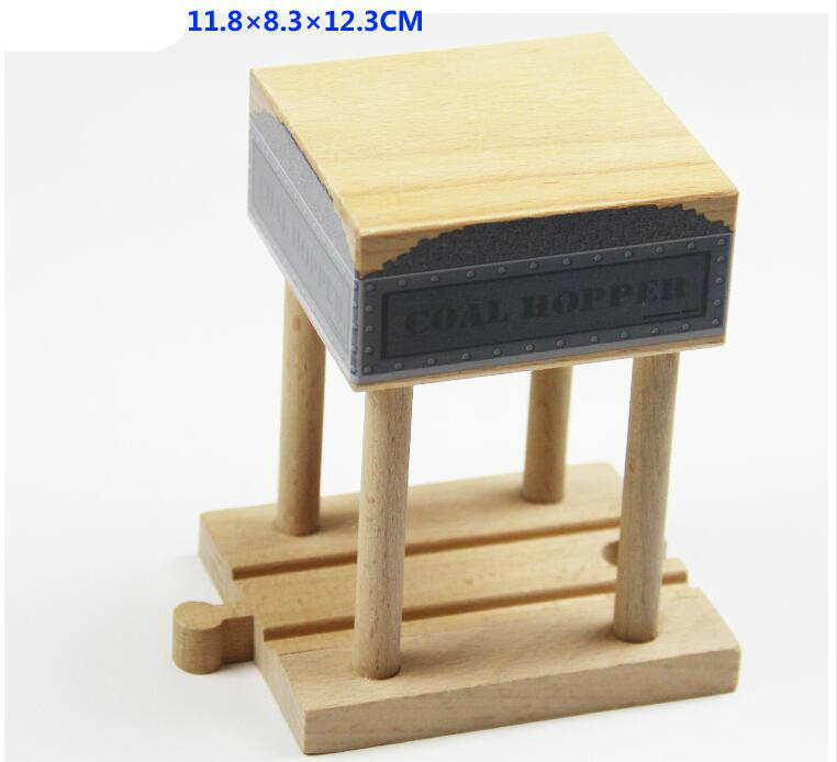 Thomas and Friends --Wood Coal Hopper Wood Track Thomas Wooden Train Track Railway Accessories Toy For Chirldren Gifts