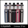 Оригинал Joyetech UNIMAX 25 Starter Kit с 5 мл бака и 3000 мАч зарядное UNIMAX 22 Starter Kit с 2 мл бака 2200 мАч батареи