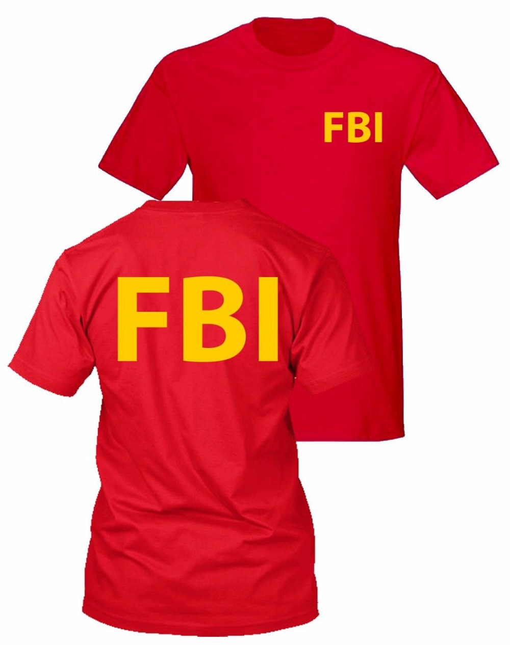 FBI t-shirt secret service CIA t-shirt police government agent t-shirt