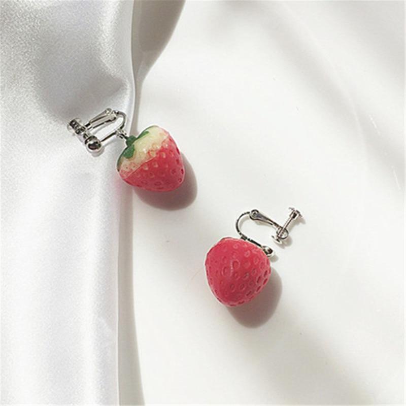 Strawberry Earrings 5
