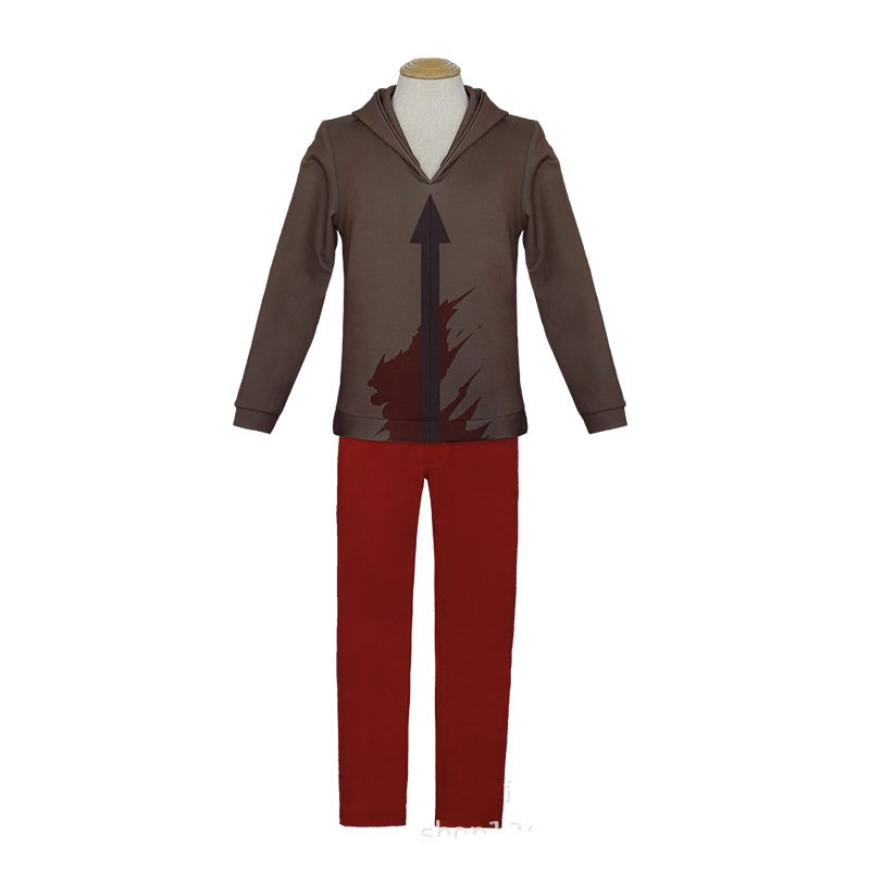 Anime Game Angels of Death Cosplay Costume Zack Costume Uniform outfit halloween