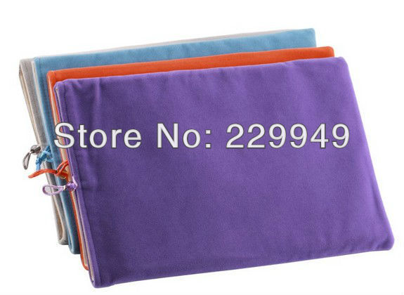 Sleeve Case for 10 inch Tablet PC Multi color cozy cotton flannel case