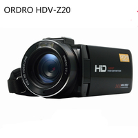 ORDRO HDV Z20 1080P Full HD Recording Camcorder 3.0 LCD Screen 16X Digital Zoom 24MP Video Camera With Remote Control For IOS