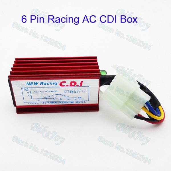 6 Pin Two Squre Plug Ac Cdi Ignition Box Cg 125cc 150cc 200cc 250cc Pit Dirt Bike Atv Quad Parts Atv Parts & Accessories