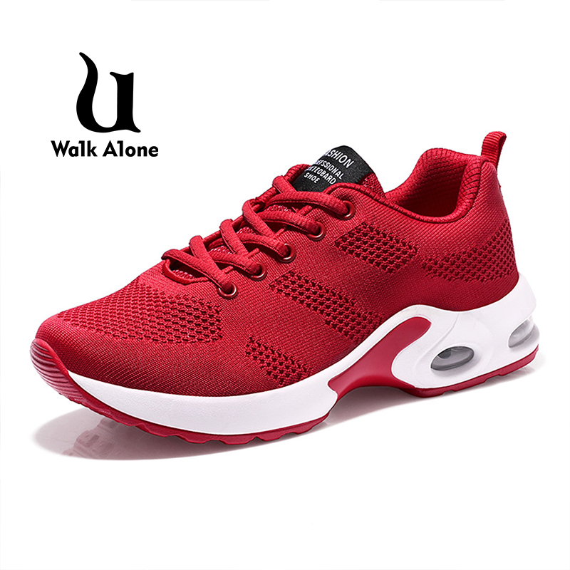 UWA1KA1LO 2019 Sneaker Autumn New Women Shoes Air Cushion Female Shoes Sports Breathable Flyknit Sport Shoes Women's Shoes