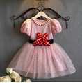 Summer Girl Dresses Toddler Girl Fashion Minnie Tutu Dresses For Teenagers Children Ball Gown Pink Dresses Princess Baby Clothes