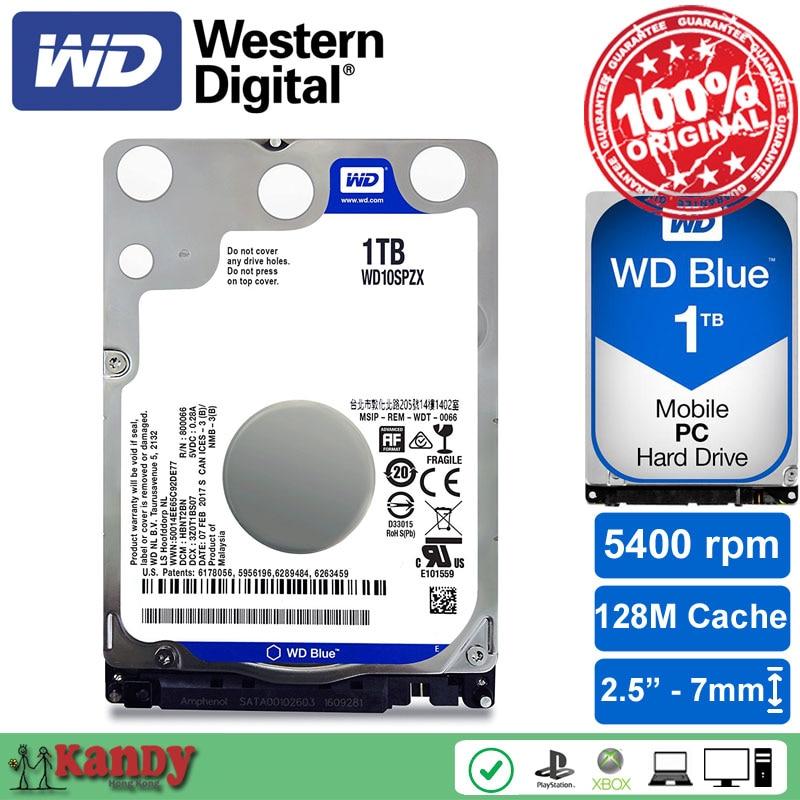 Western Digital WD Blue 1TB hdd 2.5 SATA disco duro laptop internal sabit hard disk drive interno hd notebook harddisk disque