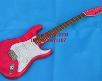 new Big John single wave electric guitar with maple fingerboard and alder body single wave guitar in rose red F 1329