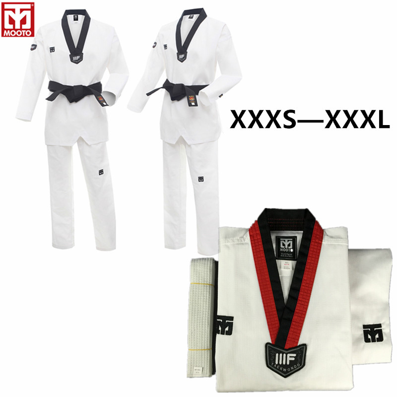 Mooto TaeKwonDo ITF Kick Protector TKD Guard Pad White 1pair Tae Kwon Do Korean