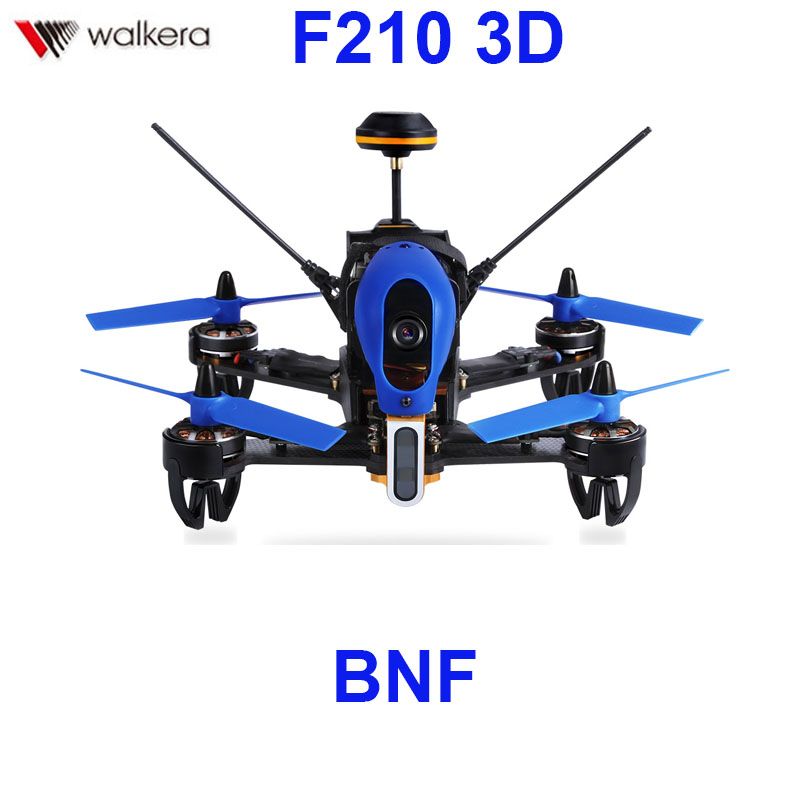 (In stock) Original Walkera F210 3D BNF Without transmitter racing Drone quadcopter with OSD / 700TVL Camera BNF original walkera f210 with devo 7 transmitter rc drone quadcopter with osd 700tvl camera battery charger