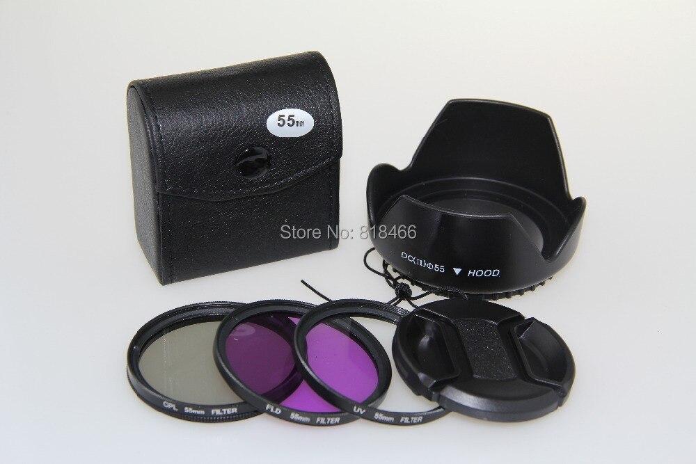 ٩(^‿^)۶Envío libre 77mm UV + CPL + FLD Filtro de lente + lente Cap + ...
